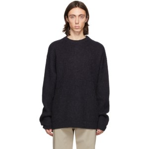 HOPE Navy Wool North Sweater