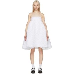 Cecilie Bahnsen SSENSE Exclusive White Lisbeth Dress
