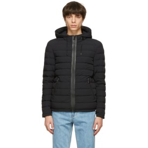 Mackage Black Down Stretch Mike Jacket