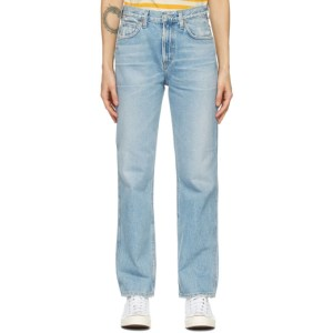 Citizens of Humanity Blue Daphne High-Rise Stovepipe Jeans