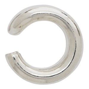 All Blues Silver Polished Turn Ear Single Cuff