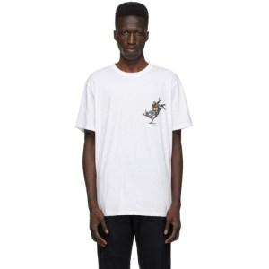 rag and bone White Comic Bull T-Shirt