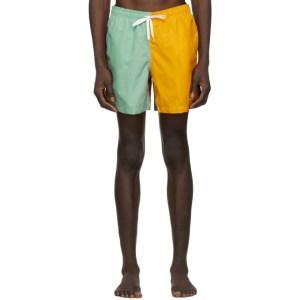 Bather Multicolor Solid Swim Shorts