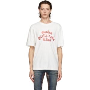 Stolen Girlfriends Club White Arch Gothic Classic T-Shirt