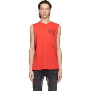 Stolen Girlfriends Club Red Slime Sleeveless T-Shirt