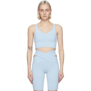 Live the Process Blue Crystal Sport Top