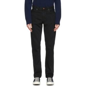 Nudie Jeans Black Gritty Jackson Jeans