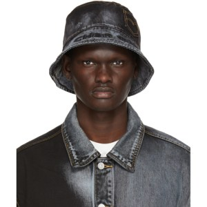 Feng Chen Wang Black and Blue Levis Edition Bucket Hat
