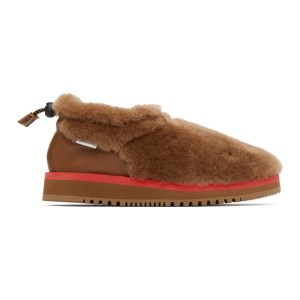Aries Brown Suicoke Edition Ron Mid Loafers