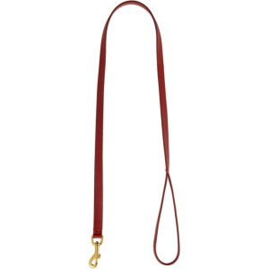 Maximum Henry Red Leather Leash