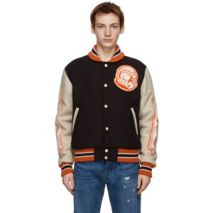 Billionaire Boys Club Brown Astro Varsity Jacket