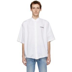 Dsquared2 White Mini Logo Shirt