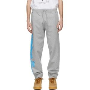 Helmut Lang Grey Saintwoods Edition HL Taxi Lounge Pants