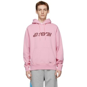 Helmut Lang Pink Saintwoods Edition Heads Up Hoodie