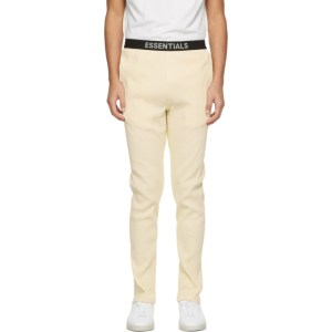 Essentials Off-White Thermal Lounge Pants