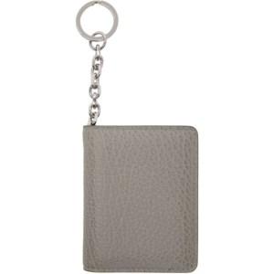 Maison Margiela SSENSE Exclusive Grey Keychain Card Holder