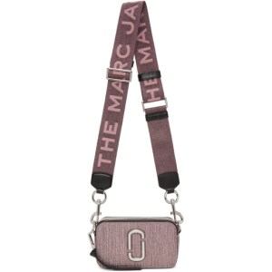 Marc Jacobs Pink Glitter Snapshot Bag