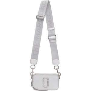 Marc Jacobs Silver DTM The Snapshot Bag