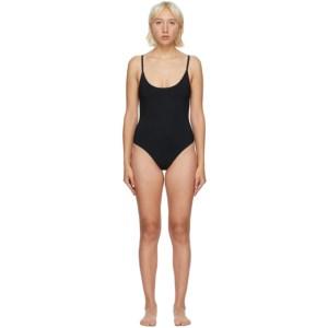 Lido Black Uno One-Piece Swimsuit