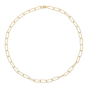 Laura Lombardi Gold Rosa Necklace