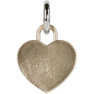 Laura Lombardi SSENSE Exclusive Silver Heart Charm
