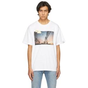 Golden Goose White Sunset T-Shirt