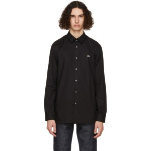 Lacoste Black Stretch Slim Fit Shirt