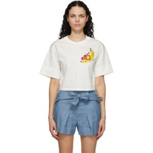 3.1 Phillip Lim Off-White Banana T-Shirt