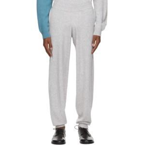 Frenckenberger Grey and Blue Cashmere Hotoveli Lounge Pants
