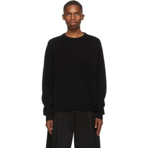Frenckenberger Black R-Neck Sweater