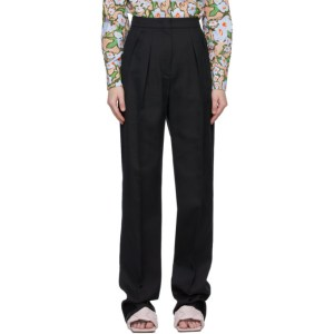 Sportmax Black Ovale Trousers