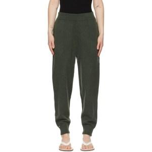 extreme cashmere Khaki Cashmere N°56 Yogi Lounge Pants