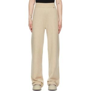 extreme cashmere Beige Cashmere N°104 Trouser Lounge Pants