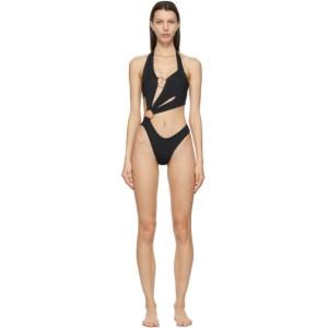 Louisa Ballou Black Sex Wax One-Piece Swimsuit