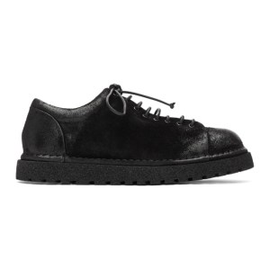 Marsell Black Gomme Low-Top Boots