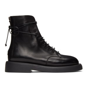 Marsell Black Gommello Boots