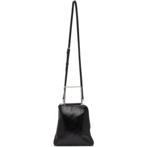 Marge Sherwood Black Crinkled Breeze Handle Bag