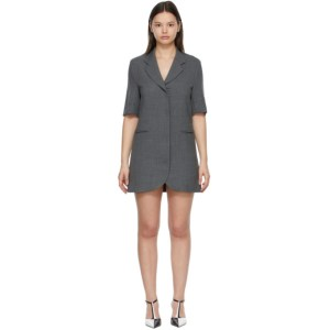 Georgia Alice SSENSE Exclusive Grey Boy Mini Dress
