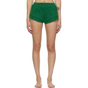 Oseree Green Lumiere Shorts