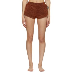 Oseree Brown Lumiere Shorts