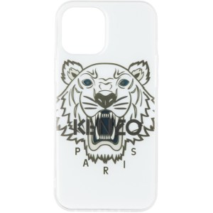 Kenzo White Resin Tiger iPhone 12 Pro Max Case