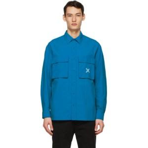 Kenzo Blue Sport Little X Over Shirt