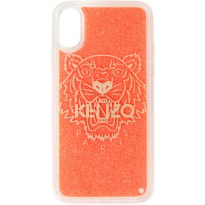 Kenzo Red Glitter Tiger iPhone X/XS Case