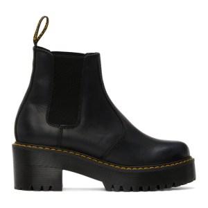 Dr. Martens Black Rometty Platform Boots