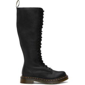 Dr. Martens Black Virginia Knee-High Boots