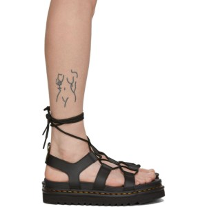 Dr. Martens Black Nartilla Sandals