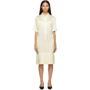 Commission SSENSE Exclusive Off-White Bralette Shirt Dress