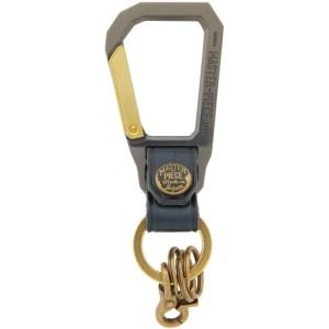 Master-Piece Co Navy Carabiner Keychain
