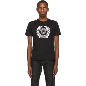 Versace SSENSE Exclusive Black Medusa Laurel T-Shirt