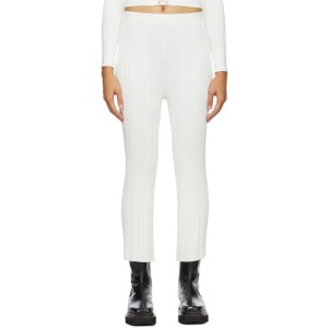 Dion Lee SSENSE Exclusive White Float Lounge Pants